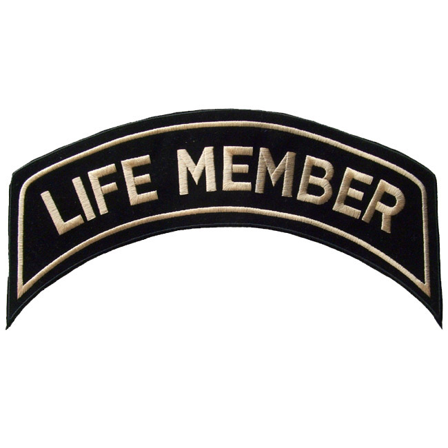 Large patch life member arch | sogno americano.
